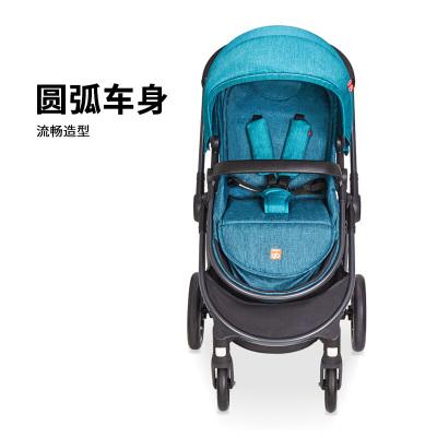 gb好孩子 嬰手推車 傘車 高景觀 可坐可平躺 雙向推行 避震折疊 輕便 GB101