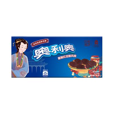 億滋奧利奧故宮風味系列夾心餅干蜜制紅豆酥味194g