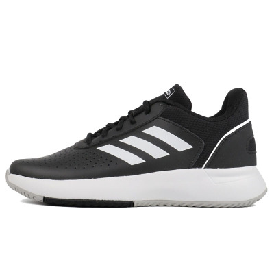Adidas阿迪達斯男鞋新款運動舒適透氣耐磨減震網球鞋休閑鞋CG6329 C