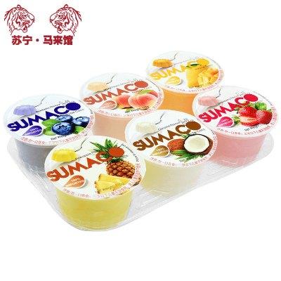 馬來西亞館 素瑪哥/SUMACO 綜合口味果凍(含椰果) 660g*1套