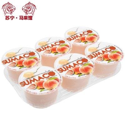 馬來西亞館 素瑪哥/SUMACO 水蜜桃味果凍(含椰果) 660g*1套