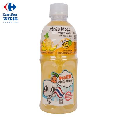 【家乐福】摩咕摩咕椰果菠萝汁饮料320ml