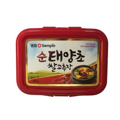 韓式辣醬 膳府傳統辣椒醬炒年糕石鍋拌飯醬火鍋甜辣泡菜醬 韓國辣醬500g