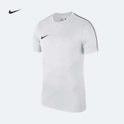 Nike耐克运动短袖T恤足球服比赛训练服 跑步球衣 男子透气组队光板定制印号