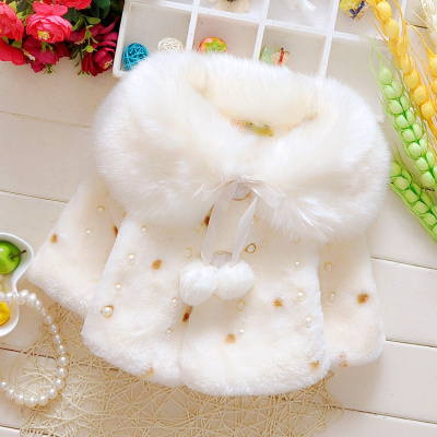 HKCP女童外套冬装加绒加厚1一6岁女宝宝冬季衣服洋气儿童棉衣秋冬韩版
