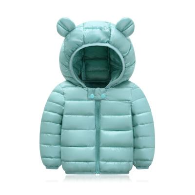 兒童棉服男童女童0-5歲嬰幼兒秋冬輕薄短款棉襖童裝外套 諾妮夢