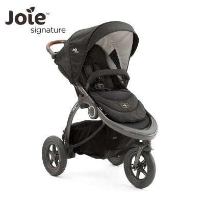 英國巧兒宜Joie嬰兒推車豪華型三輪寶寶手推車守護天使Crosster flex-Signature 高級黑