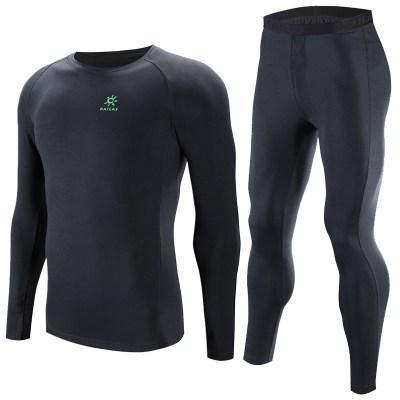 凯乐石户外运动男女coolmax透气速干排汗贴身保暖滑雪内衣裤套装户外休闲衣裤套装