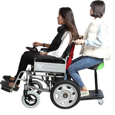 泰合 电动轮椅车折叠老人轻便带坐便老年人残疾人代步车锂电池铅酸可选选 201D 20安铅酸电池