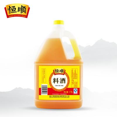【中华特色】镇江馆 恒顺料酒1.75L 调味品料 去腥料酒 调味烧菜增鲜提味烹饪料酒 华东