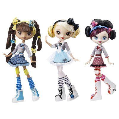 芭比 Barbie 酷酷原宿時尚巨星娃娃 款式豐富 三款女孩娃娃造型動漫玩具 隨機選擇-FFB20