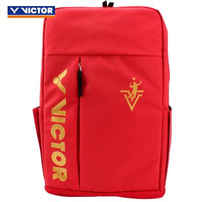 威克多(Victor)勝利三支裝羽毛球拍包休閑運動時尚雙肩包 BR3019