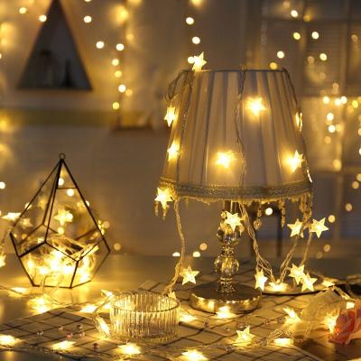 多美忆 圣诞树圣诞节装饰品1.8米圣诞树套餐圣诞节装饰品加密型圣诞树送彩灯 暖白色星星灯3米20灯电池款
