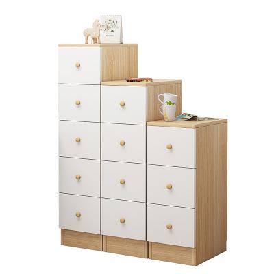 窄柜子省空间储物柜夹缝抽屉式收纳柜简约家用角柜边柜多层小书柜