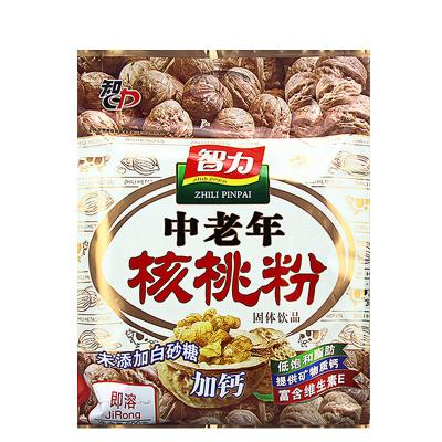 智力 中老年核桃粉600g(内含17小包)未添加白砂糖 速溶即食代餐粉