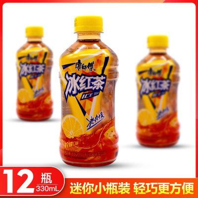 康師傅 冰紅茶 330ml*12瓶 迷你小瓶裝 茶味果味飲料 夏日飲品