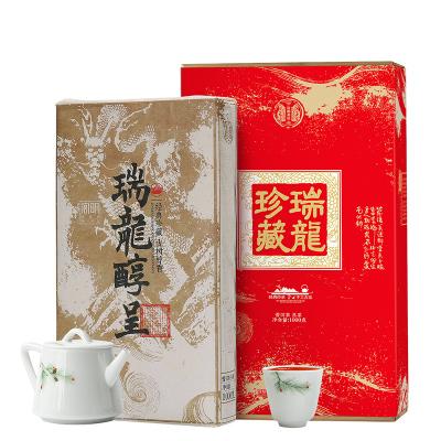 宮明茶葉 2009年老班章熟普云南普洱茶熟茶陳年古樹茶磚黑茶禮盒裝1000克