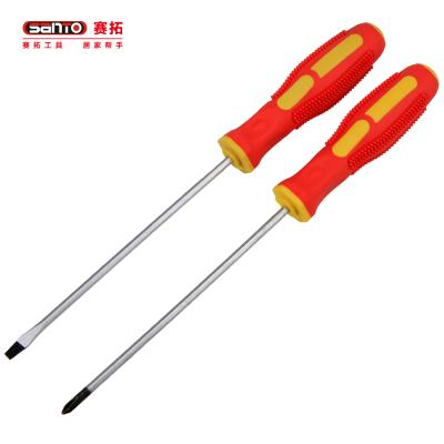 赛拓(SANTO)1361 螺丝刀 十字螺丝批 一字螺丝批 改锥套装 起子 螺丝批组套