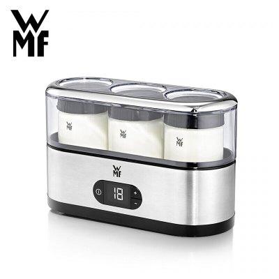 德國WMF福騰寶自制酸奶機 家用小型迷你指示燈顯示三個分杯1L及以下宿舍全自動不銹鋼酸奶發酵機酵素機