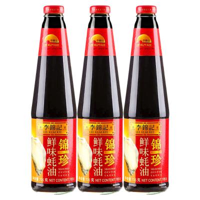 李錦記 錦珍鮮味蠔油 705g*3瓶