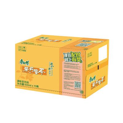 康師傅 茉莉蜜茶500ml*15瓶 整箱 茶飲料(新老包裝交替發貨)