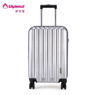 Diplomat брэндийн аялалын чемодан TC-618 24 инч мөнгөлөг