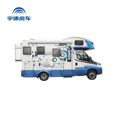 【订金抵扣】宇通房车C630智能化 8速自动变速箱 蓝牌C照 柴油发动机 智能化操作