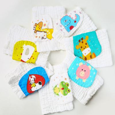 嬰兒吸汗巾寶寶6層紗布全棉隔汗巾兒童汗巾墊背巾純棉紗布