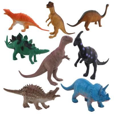 兒童逼真恐龍模型玩具袋裝8只裝霸王龍劍龍梁龍模型玩具