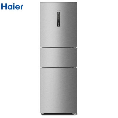 【99新】 Haier/海爾 258升 風冷無霜三門冰箱 變溫 TABT殺菌BCD-258WDPM