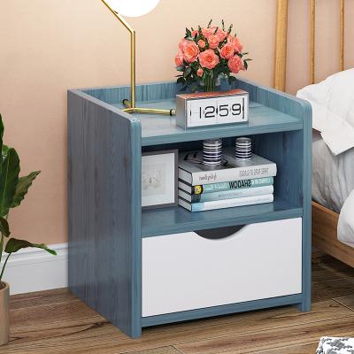 北歐床頭柜置物架簡約現代臥室收納柜經濟型簡易床邊小柜子儲物柜