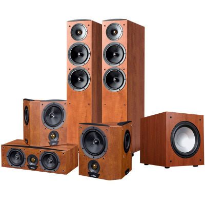 JAMO/尊宝 C605+C60CEN+C60SUR+J10SUB家庭影院音响5.1音箱套装