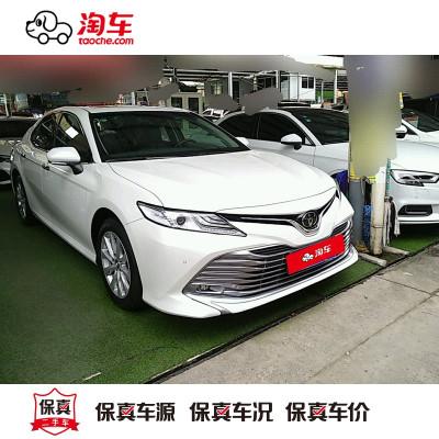 【订金销售】 丰田 凯美瑞 2019款 2.0G 豪华版 国V 淘车二手车