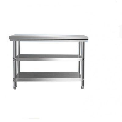 移动案板饭店不锈钢工作台整体面板案子面用厨房不锈钢工作台桌yz