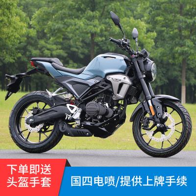 風感覺全新摩托車跑車國四電噴150ccV8小怪獸街車大型公路趴賽特技表演車可上牌