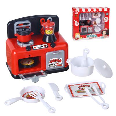 男孩女孩冬己过家家厨房玩具小家电炉具款