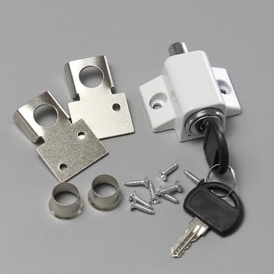 苏宁放心购移窗锁塑钢铝合金窗户锁平开推拉锁儿童安全锁扣固定器限位器简约新款