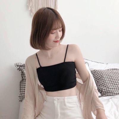 內衣女學生韓版裹胸初中生吊帶性感外穿少女背心裹胸抹胸文胸