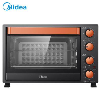 美的(Midea)电烤箱 T3-L326B 四层烤位 大烤箱 黑色