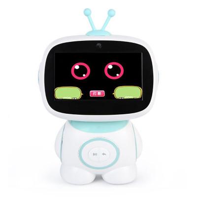 兒童早教機小艾/小愛同學智能機器人 AI高科技學習機趣味對話 兒童益智早教3-9-14歲男孩女孩禮物 藍色【標配版】