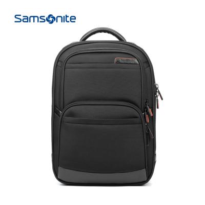 Samsonite/新秀麗 休閑男士雙肩包 大容量背包 時尚男包商務電腦包書包 可放14寸15寸電腦 36B*09009