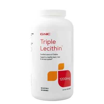 GNC/健安喜三重卵磷脂軟膠囊180粒/瓶