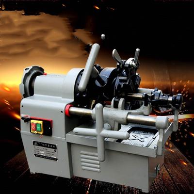 2_3_4寸電動切管套絲機法耐_FANAI_z多功能圓鋼車絲機水管開牙機板牙機 2寸雙速機