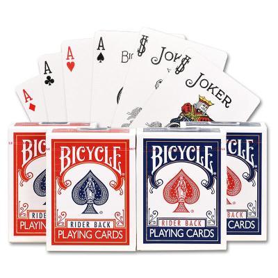 因樂思(YINLESI)單車撲克牌bicycle耐磨魔術紙牌德州撲克牌成人卜克