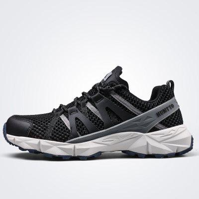 美国悍途户外运动鞋男士徒步鞋轻便透气爬山鞋越野跑鞋防滑登山鞋