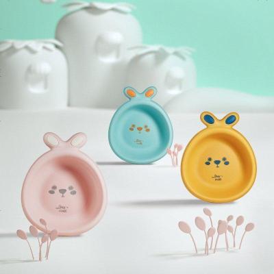 babycare嬰兒洗臉盆 新生兒寶寶洗pp用品 3個裝兒童家用卡通小臉盆