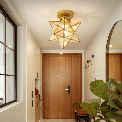 Grevol北歐入戶陽臺過道燈簡約現代個性創意led吸頂燈走廊燈玄關燈