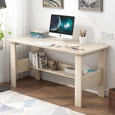 腾煜雅轩 简约现代书房家具人造板式电脑台式桌电脑桌家用桌简约经济型简易小书桌卧室桌子学生写字桌