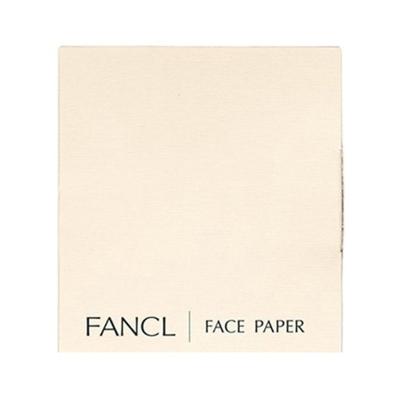 【直營】FANCL日本芳珂面油紙 面部吸油紙100張/包*3包/盒 300張 天然麻紙便捷(保稅)
