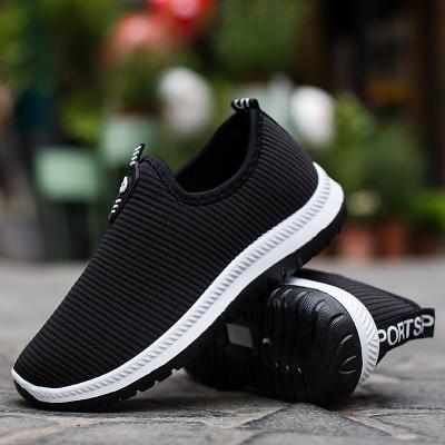 邁凱恩品牌2019冬季新款老北京布鞋平底一腳蹬懶人休閑棉鞋男女加絨工作鞋